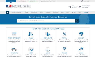 Accédez aux services publics